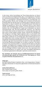 Bestandsschutz im Brandschutz – Fortbildung für - weyer gruppe - Page 2