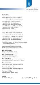 Bestandsschutz im Brandschutz – Fortbildung für - weyer gruppe - Page 3