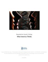 Reproductive Genetic Testing - Genetics & Public Policy Center