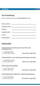 Luftfrachtsicherheit - Neue Anforderungen für ... - weyer gruppe - Page 4