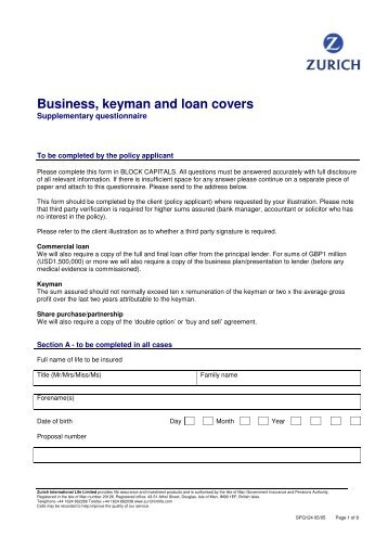 Employer Application Form - Convoy Financial Services Holdings ...