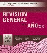Revisión general del año 2012 - Brethren in Christ Church