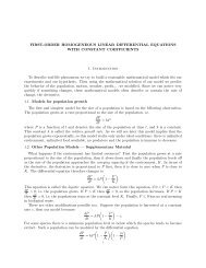 FIRST-ORDER HOMOGENEOUS LINEAR DIFFERENTIAL ...