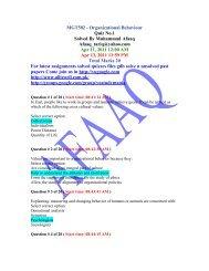 MGT502 - Organizational Behaviour - Press Pages