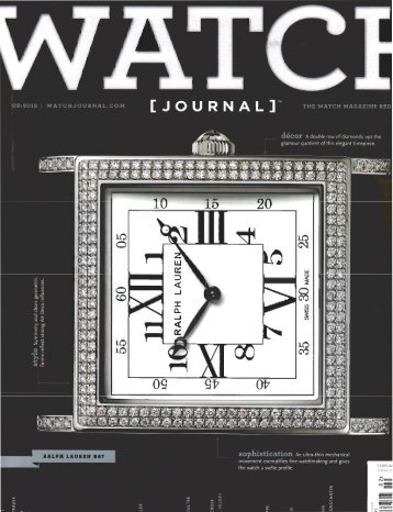 THE WATCH MAGAZINE RED - Westime