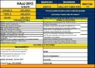Hajj Packages 2013 - Phonebook.com.pk