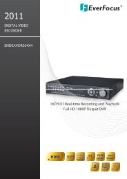 16CH D1 real-time recording and playback, Full HD 1080P output ...