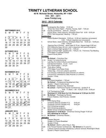 2013 Calendar SEPTEMBER 2012 S M T W T F S 1 2 3 4 5 6 7