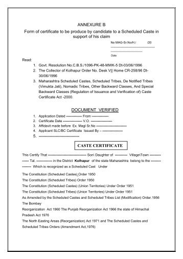 FORM NO. 16A [See rule31(l)(b)] Certificate of deduction of tax ...