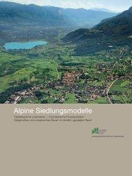 Alpine Siedlungsmodelle - Land Tirol