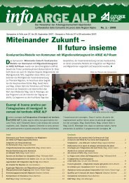 Newsletter - Arge Alp