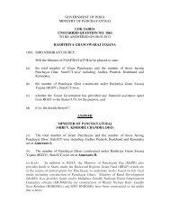 English - Ministry of Panchayati Raj Ministry of Panchayati Raj