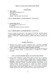 Smlouva o centralizovaném zadám' veřejné zakázky I ... - Semily