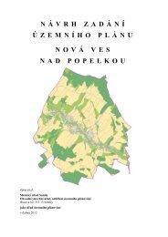Návrh Zadání Územního plánu Nová Ves nad Popelkou - Semily