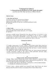 veřejnoprávní smlouva přestupky 2010 Háje nad Jizerou - Semily