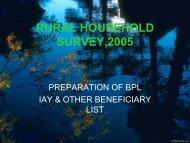 RURAL HOUSEHOLD SURVEY,2005