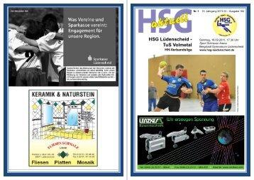 Die HSG Saison 2011/2012 Die HSG Saison ... - Die Ruhmreichen