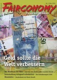 Geld sollte die Welt verbessern - Inwo
