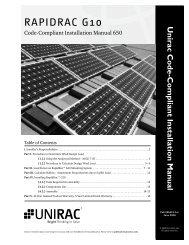 RapidRac Install Manual - Solar Solutions & Distribution