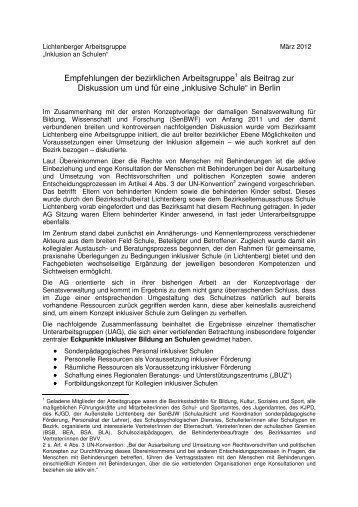 2012-03-14 - Ergebnisse AG Inklusion