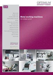 Metal working machines - Who-sells-it.com