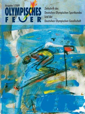 Ausgabe 1/2009 - Deutsche Olympische Gesellschaft