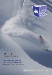 Brochure Download -  WHITEROOM TOURS