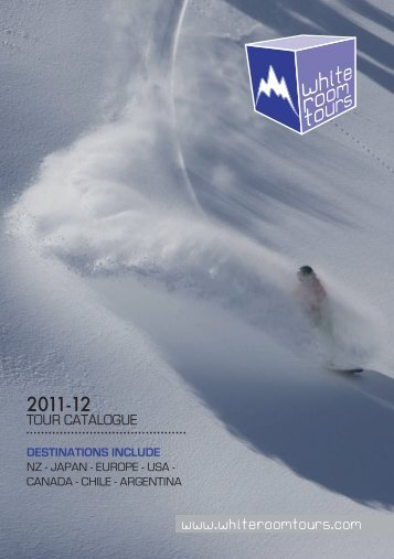 Brochure Download -  WHITEROOM TOURS