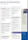 PACTES D'ACTIONNAIRES - Efe - Page 3