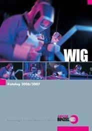 WIG-Katalog - Gustav Westerfeld GmbH