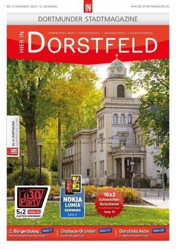 Wir in Dorstfeld - Dortmunder & Schwerter Stadtmagazine