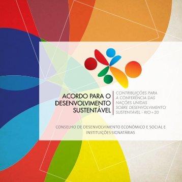 Acordo para o Desenvolvimento Sustentável - Confea