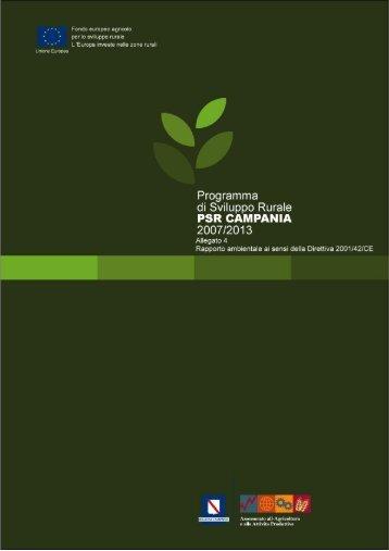 rapporto ambientale del programma di sviluppo rurale 2007 - 2013