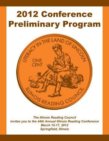 2012 Conference Preliminary Program - Illinois Reading Council