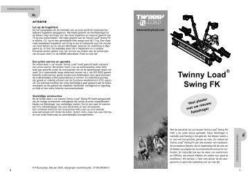 Twinny Load Swing FK - Alles voor de fiets
