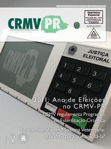 2011: Ano de Eleições no CRMV-PR