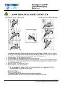 Montagevoorschrift/ gebruiksaanwijzing ERGO CK - Alles voor de fiets - Page 6