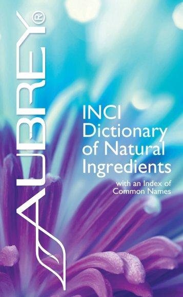 Ingredient-INCI-Dictionary2015