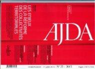 HEBDOMADAIRE - 1er juillet 2013 - N° 23 - 2013 Pages 1297 à 1360