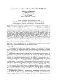 Avaliação de dados dos Sistemas de Alerta da ... - OBT - Inpe