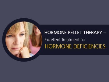 Hormone Pellet Therapy in Kansas City - What You Should Know!