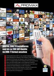 Digital To TV (DTTV) - Promax