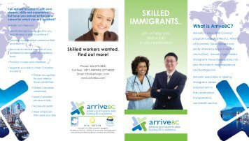 SKILLED IMMIGRANTS... - BC Internationally Trained Professionals ...