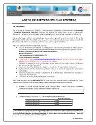 Anexo 2 Carta Bienvenida - Coparmex