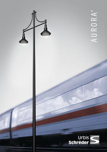 Aurora PDF Product Brochure - Urbis Lighting Limited