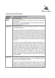Comenius Multilateral Partnership Deadline: 21st February 2012 ...