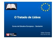 O Tratado de Lisboa - Europe Direct Santarém