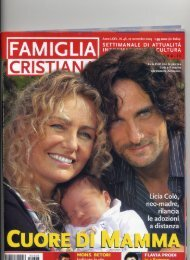Famiglia Cristiana 27-11-2005 - Alessandro Antonino