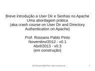 Apache - Rossano Pablo Pinto's Home Page