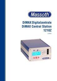 DiMAX1210Z Digitalzentrale DiMAX 1210Z Central ... - AllAboutLGB